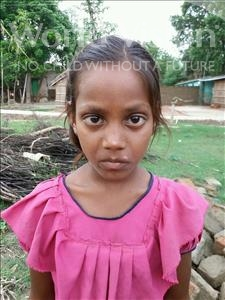 Choose a child to sponsor, like this little girl from Bhojpur, Khushbu age 8