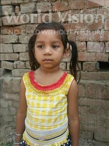 Choose a child to sponsor, like this little girl from Bhojpur, Archana age 5