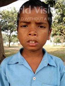 Choose a child to sponsor, like this little boy from Bhojpur, Manu age 9