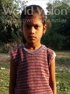 Choose a child to sponsor, like this little girl from Bhojpur, Sonam age 10