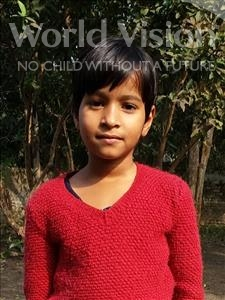 Choose a child to sponsor, like this little girl from Bhojpur, Aditya age 8