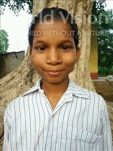 Choose a child to sponsor, like this little girl from Bhojpur, Lalita age 12