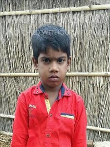 Choose a child to sponsor, like this little boy from Bhojpur, Virat age 6