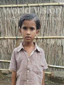 Choose a child to sponsor, like this little girl from Bhojpur, Rubi age 7