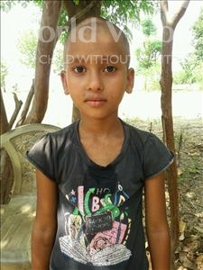 Choose a child to sponsor, like this little girl from Bhojpur, Astha age 7