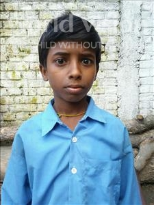 Choose a child to sponsor, like this little boy from Bhojpur, Ashok age 8