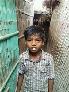 Choose a child to sponsor, like this little boy from Patna, Anuragh age 10