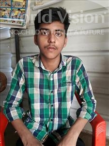 Choose a child to sponsor, like this little boy from Patna, Vishal age 13