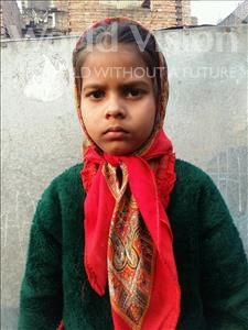Choose a child to sponsor, like this little girl from Patna, Ragini age 9