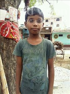 Choose a child to sponsor, like this little boy from Patna, Avinash age 10