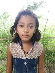 Choose a child to sponsor, like this little girl from Vaishali, Kasish age 6