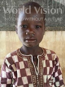 Choose a child to sponsor, like this little boy from Sirba, Bassirou age 6
