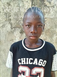 Choose a child to sponsor, like this little boy from Mbella, Moussa age 9