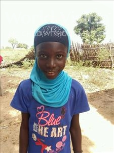 Choose a child to sponsor, like this little girl from Mbella, Khemesse age 10