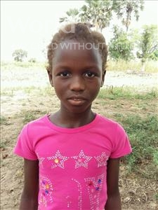 Choose a child to sponsor, like this little girl from Mbella, Seynabou age 10