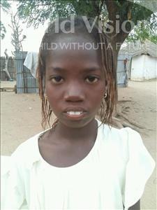 Choose a child to sponsor, like this little girl from Mbella, Adama age 10