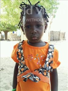 Choose a child to sponsor, like this little girl from Mbella, Amie age 3