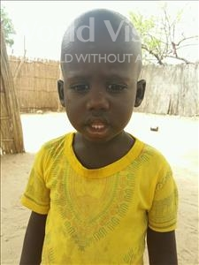Choose a child to sponsor, like this little boy from Mbella, Mohamet age 2