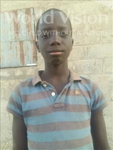 Choose a child to sponsor, like this little boy from Loul, Leon age 13