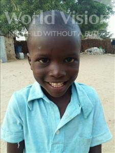 Choose a child to sponsor, like this little boy from Loul, Mamadou age 6