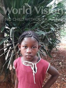 Choose a child to sponsor, like this little girl from Jong, Moiyatu age 9