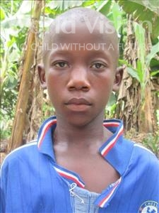 Choose a child to sponsor, like this little boy from Jong, Sallu age 9