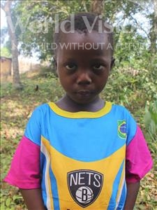 Choose a child to sponsor, like this little boy from Tegloma, Amos age 5