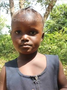 Choose a child to sponsor, like this little girl from Tegloma, Theresa age 4