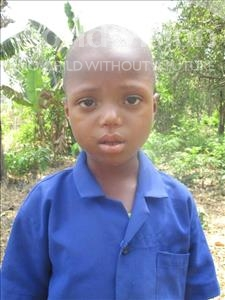 Choose a child to sponsor, like this little boy from Tegloma, Hassan age 6