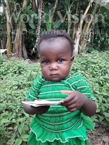 Choose a child to sponsor, like this little girl from Tegloma, Rozalyn Tiamgay age 1