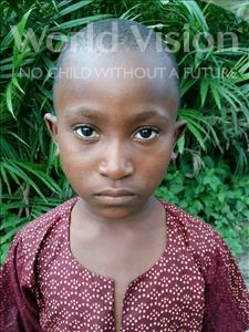 Choose a child to sponsor, like this little boy from Jaiama Bongor, Paul age 9