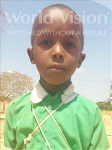 Choose a child to sponsor, like this little girl from Kilimatinde, Agatha Julius age 8