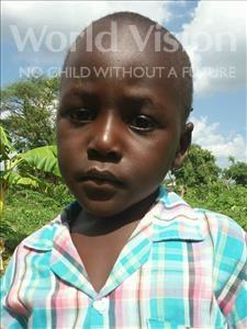 Choose a child to sponsor, like this little boy from Kilimatinde, Samwel Joseph age 5