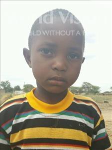 Choose a child to sponsor, like this little boy from Kilimatinde, Kisiwe Eliah age 5