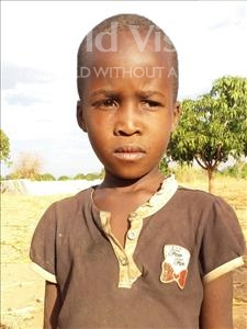 Choose a child to sponsor, like this little girl from Kilimatinde, Mary Saimoni age 7