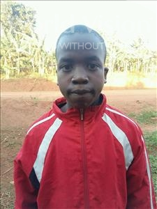 Choose a child to sponsor, like this little boy from Kibiga-Mulagi, Axam age 11
