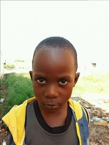 Choose a child to sponsor, like this little boy from Kibiga-Mulagi, Moses age 3