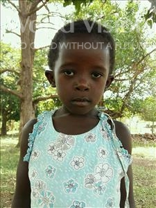 Choose a child to sponsor, like this little girl from Kibiga-Mulagi, Jemimah age 5