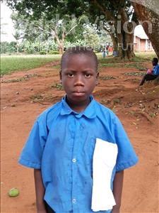 Choose a child to sponsor, like this little boy from Ntwetwe, Julius age 9