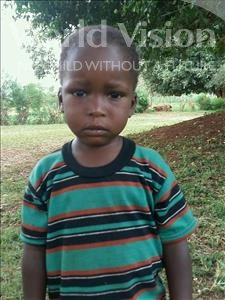 Choose a child to sponsor, like this little boy from Ntwetwe, Jimmy age 4