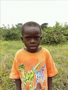 Choose a child to sponsor, like this little boy from Keembe, Espha age 6