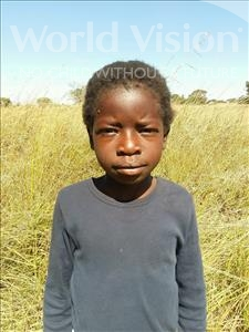 Choose a child to sponsor, like this little girl from Keembe, Cecilia age 7