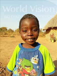 Choose a child to sponsor, like this little boy from Keembe, Reagan age 5