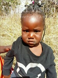 Choose a child to sponsor, like this little girl from Keembe, Felister age 3