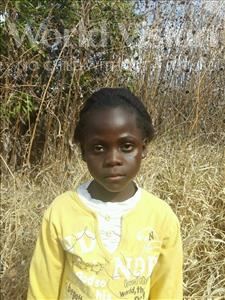 Choose a child to sponsor, like this little girl from Keembe, Christabel age 8