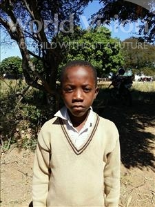 Choose a child to sponsor, like this little boy from Keembe, Benard age 7