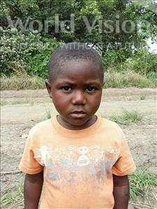 Choose a child to sponsor, like this little boy from Keembe, Moureis age 3