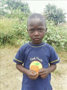 Choose a child to sponsor, like this little boy from Keembe, Chileleko age 6