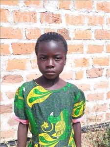 Choose a child to sponsor, like this little girl from Keembe, Phides age 8