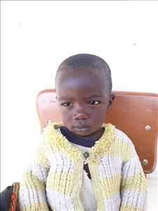 Choose a child to sponsor, like this little boy from Keembe, West age 1